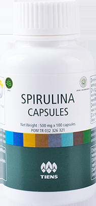 Harga Spirulina Capsules Masker Wajah Alami