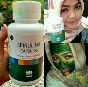 Masker Spirulina Tiens 1 - agentiens