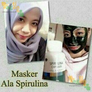 Masker Spirulina Tiens 3 - agentiens