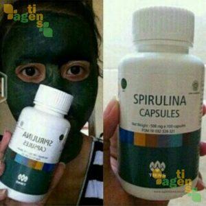 Masker Spirulina Tiens 4 - agentiens